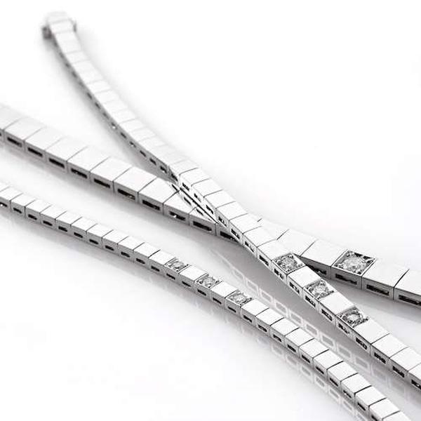 Bilde av Allianse armbånd 4.5mm 0.10ct