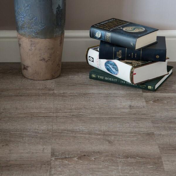 Bilde av Vareprøve: Oak brown gulvfliser