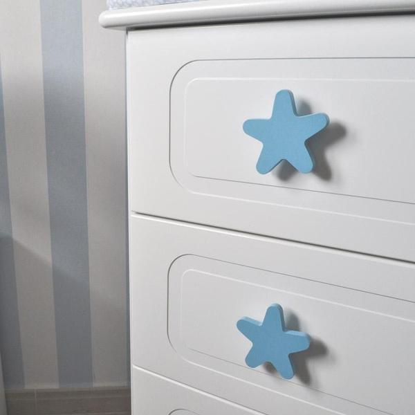 Bilde av Knott Stjerne, blå