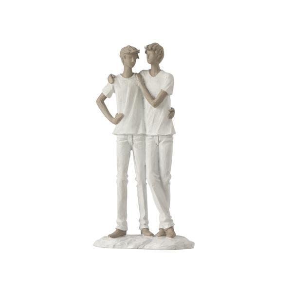 Bilde av Kjærestepar, to menn figur
