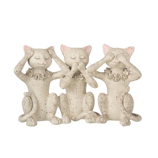 Bilde av Tre katter figur