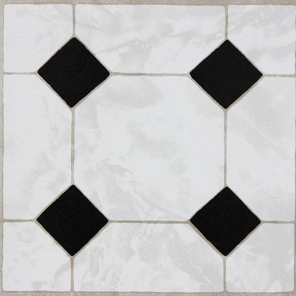 Bilde av Classic selvklebende gulvfliser