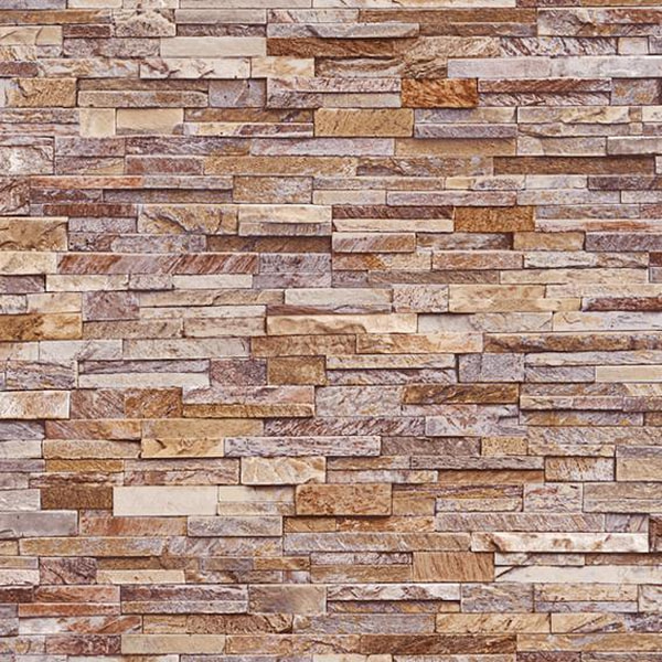 Bilde av Stone wall sand våtromstapet