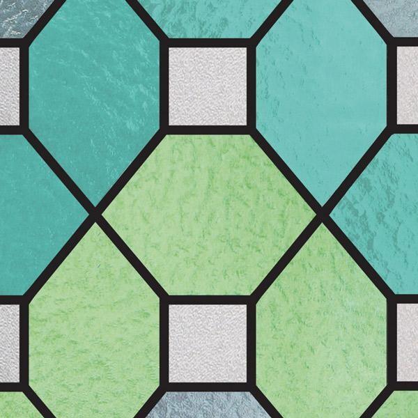 Bilde av Static Farget glass grønn vindusfolie