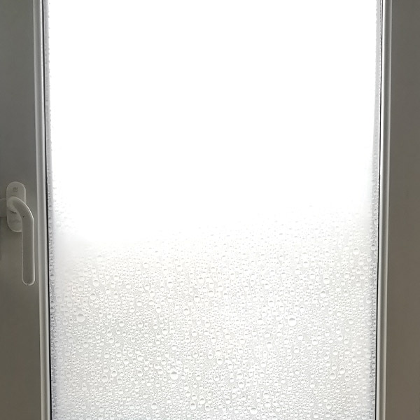 Bilde av Regndråper hvit vindusfolie