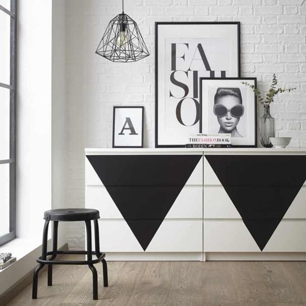 Bilde av Vareprøve: Uni Matt sort kontaktplast