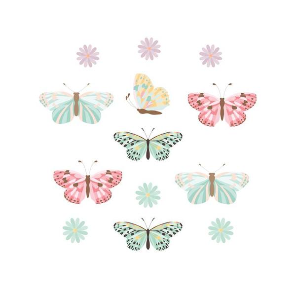 Bilde av Sommerfugl klistremerker