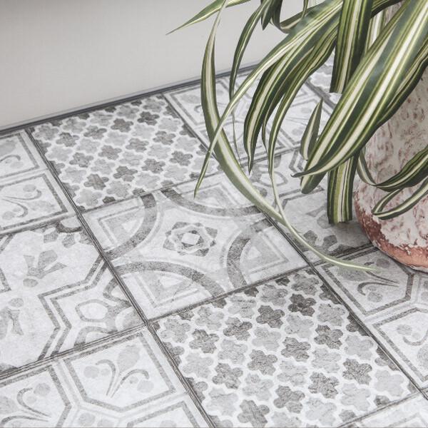 Bilde av Moroccan Style selvklebende gulvfliser