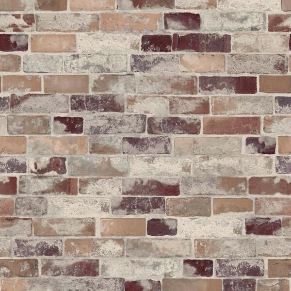 Bilde av Old brickwall våtromstapet