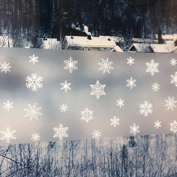 Bilde av Limited Static snowflake vindusfolie