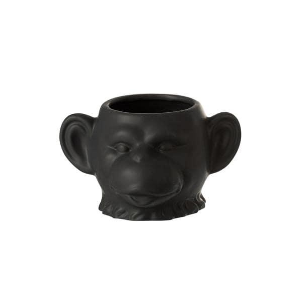 Bilde av Ape blomsterpotte sort