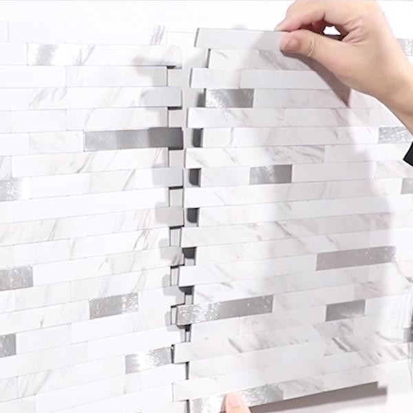 Bilde av Stein Marmor selvklebende veggfliser