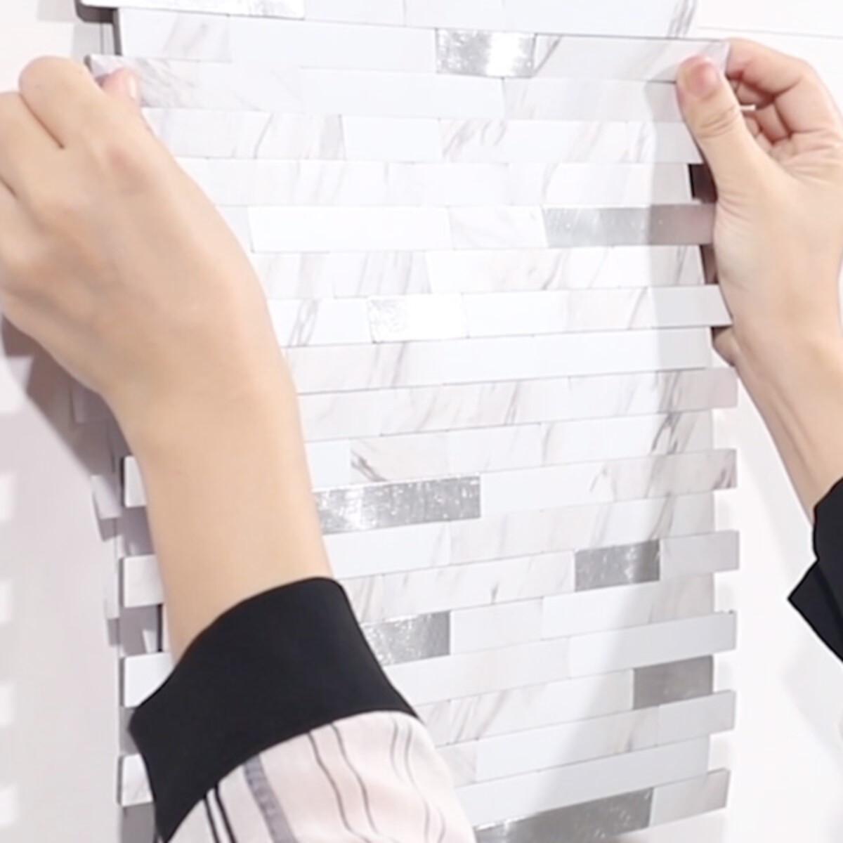 Stein Marmor selvklebende veggfliser