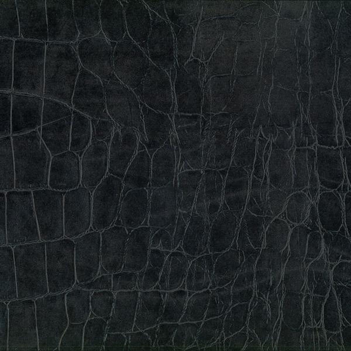 Krokodille svart kontaktplast