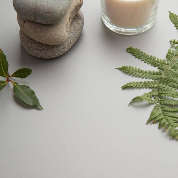 Bilde av Vareprøve: Uni Matt lys grå kontaktplast