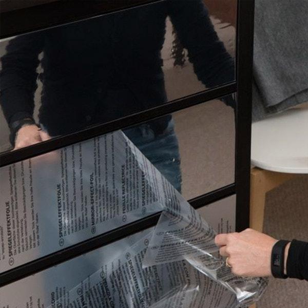 Bilde av Vareprøve: Speileffektfolie kontaktplast