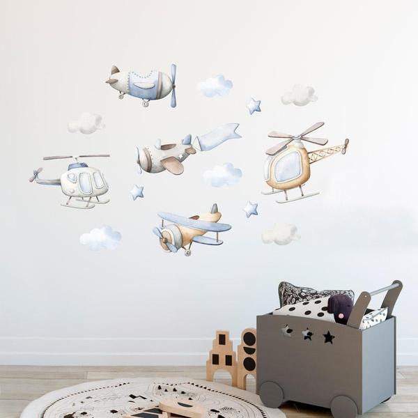 Bilde av Småfly klistremerker