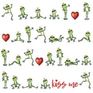 Bilde av Napkin 33 Kiss Me