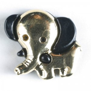Bilde av Figurknapp, Elefant