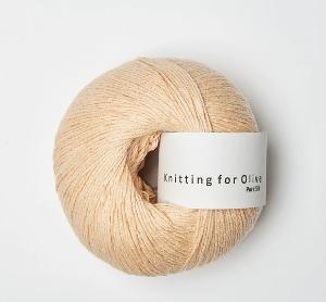 Bilde av Blid fersken Silke Knitting