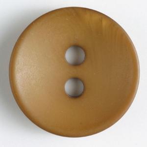 Bilde av Knapp sjattert, 34mm lys brun