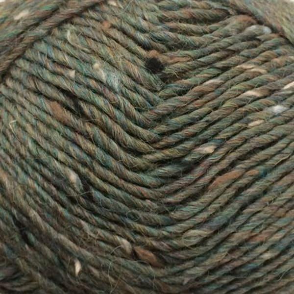 6448 Påfugl Lamatweed - Lama uld fra Camarose