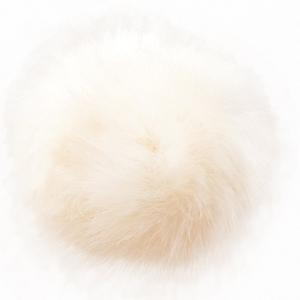 Bilde av Hvit dusk fra Permin 10 cm