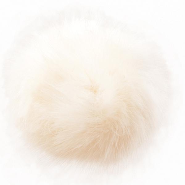Hvit dusk fra Permin 10 cm