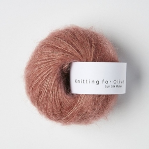 Bilde av Blommerosa - Knitting for