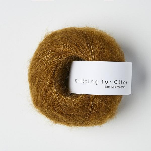 Okkerbrun - Knitting for Olive Soft Silk Mohair