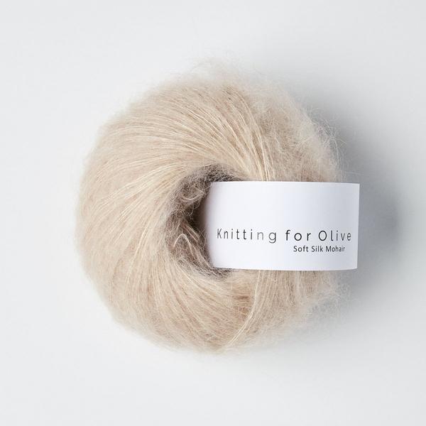 Pudderrosa - Knitting for Olive Soft Silk Mohair