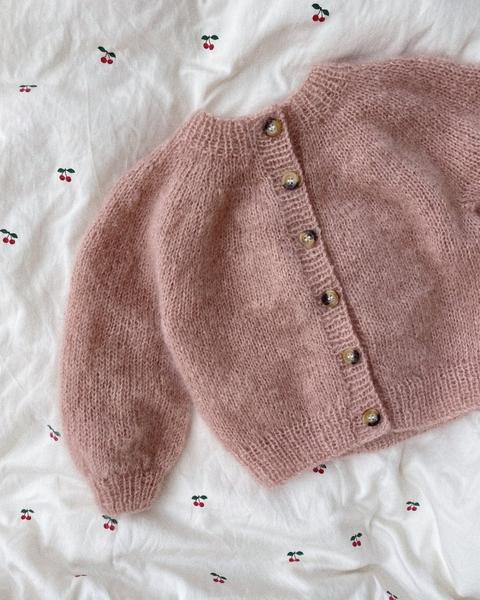 Novice Cardigan Mini - Mohair Edition