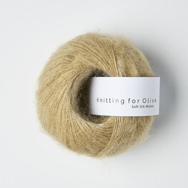 Trenchcoat - Knitting for Olive Soft Silk Mohair