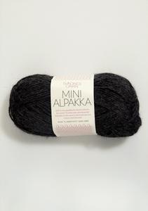 Bilde av 1088 Mini Alpakka Koksmelert
