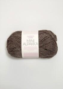 Bilde av 2652 Mini Alpakka Mellombrunt