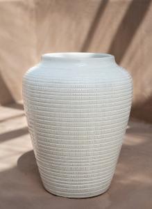 Bilde av Willow GLAZED: White 30 cm,