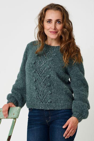 896241 Alice Sweater m/hulmønster