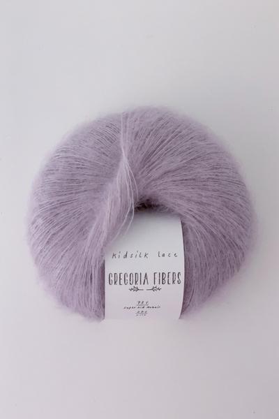 Lavender Kidsilk Lace - GREGORIA FIBERS
