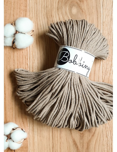 Sand Interiørgarn Cotton Cord 5 mm