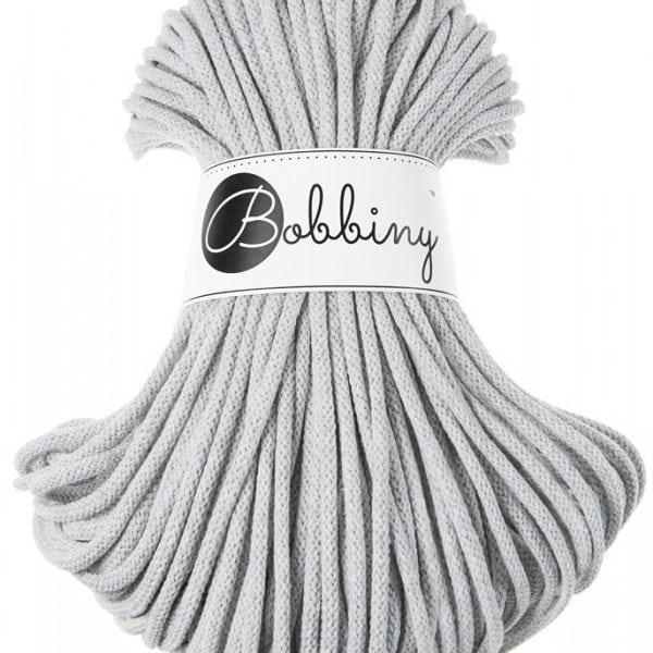 Light Grey Interiørgarn Cotton Cord 5 mm