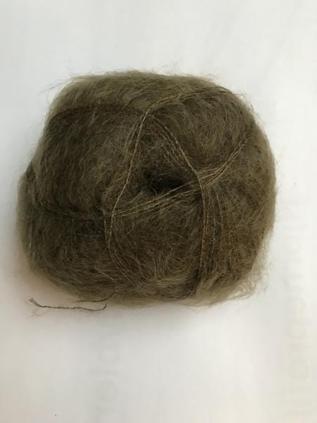 3008 Mosgrøn Brushed Lace