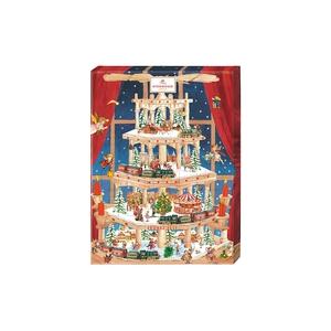 Bilde av Marsipankalender Pyramide