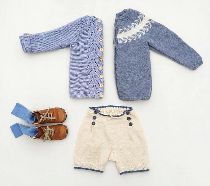 Shorts med legg av Marianne J. Bjerkman