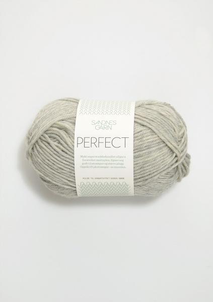1042 Perfect gråmelert