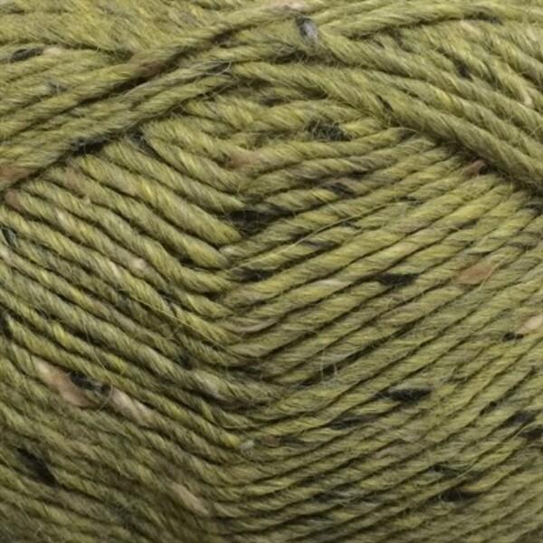 6443 Mosegrønn Lamatweed - Lama uld fra Camarose