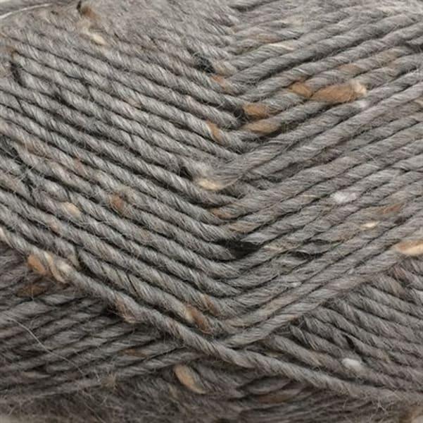 6442 Stengrå Lamatweed - Lama uld fra Camarose