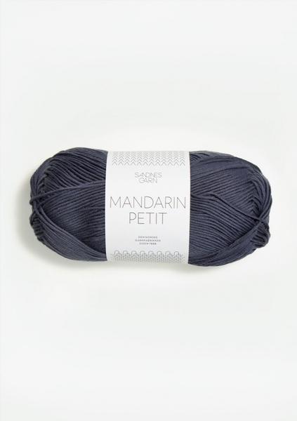 6061 Mørk Gråblå MandarinPetit