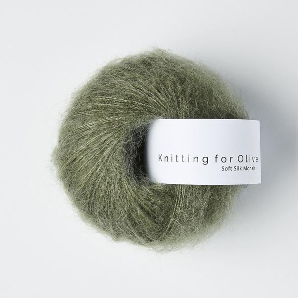 Støvet søgrøn - Knitting for Olive Soft Silk Mohair
