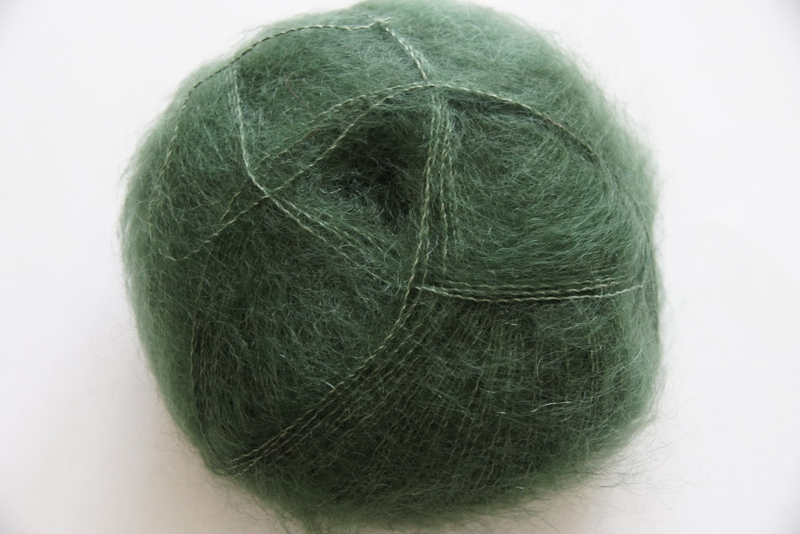 3028 Oliven Brushed Lace