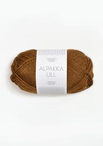 Bilde av 2564 AlpakkaUll Gyllenbrun
